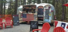The Vintage Airstream That Sells Ice Cream On Top Of A Mountain