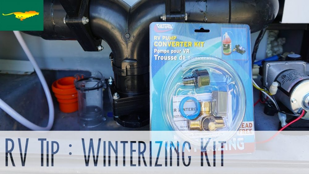 10 Items Needed To Winterize An Rv For Winter Storage