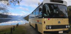 A Look Inside This Family's Converted 1987 Volvo Bus