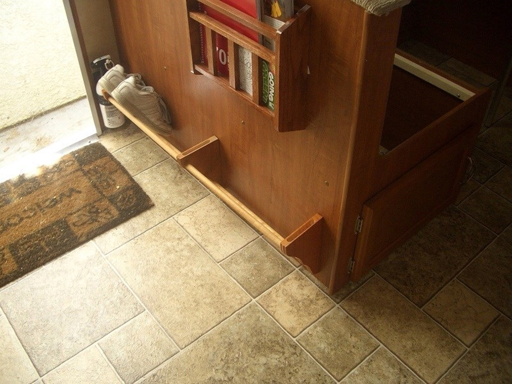Shoe Storage Organizing Tips And Ideas For Rvs Amp Campers
