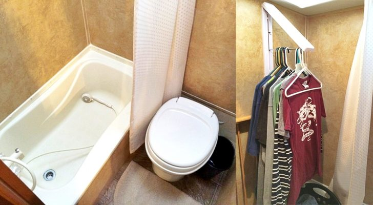 The Multiple Uses Of An RV Bathroom