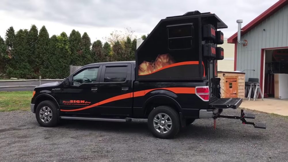 In This Video He Posted To His Youtube Channel Dave Shows Off A Beastly Micro Truck Camper Recently Built On The Back Of Ford F150