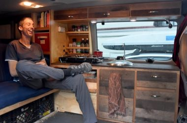How This Engineer Converted A Van For Only $1,000