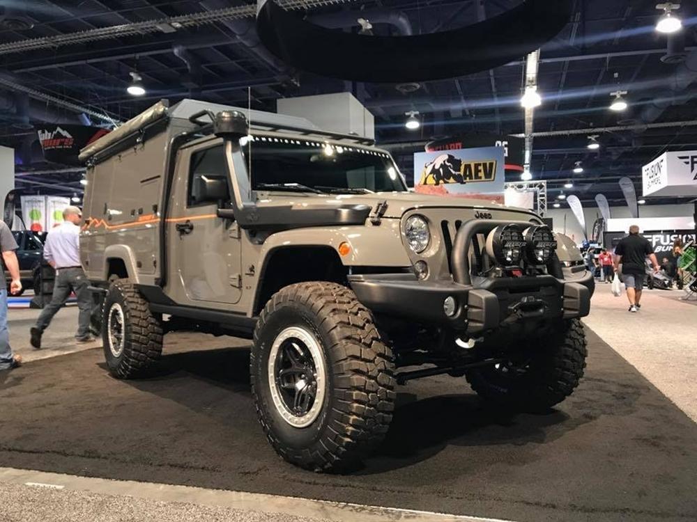 5 Rvs At 2017 Sema Show In Las Vegas Nevada