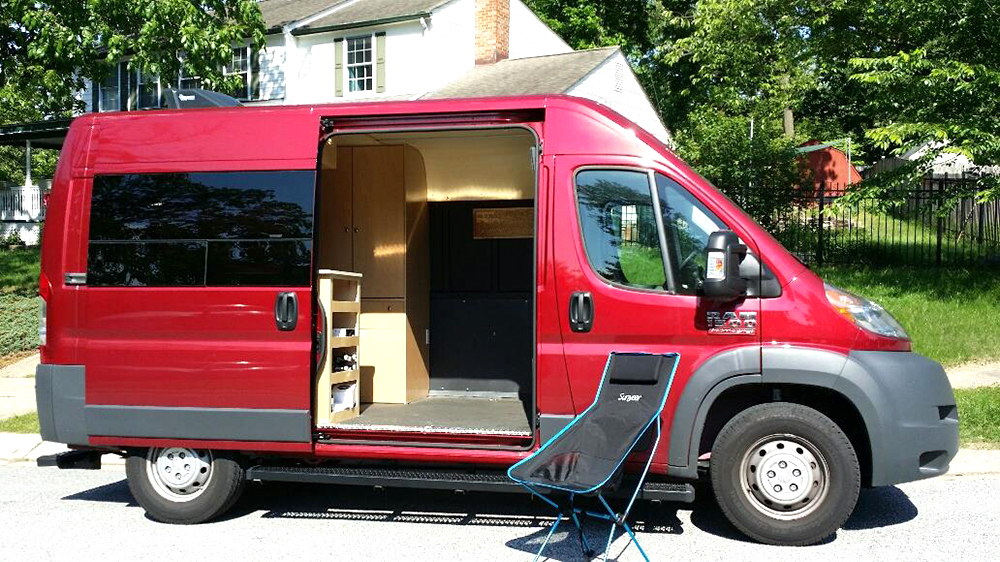 Truck Camper Plans Build Yourself: Camper Van Conversion Step By Step Guide With Photos And
