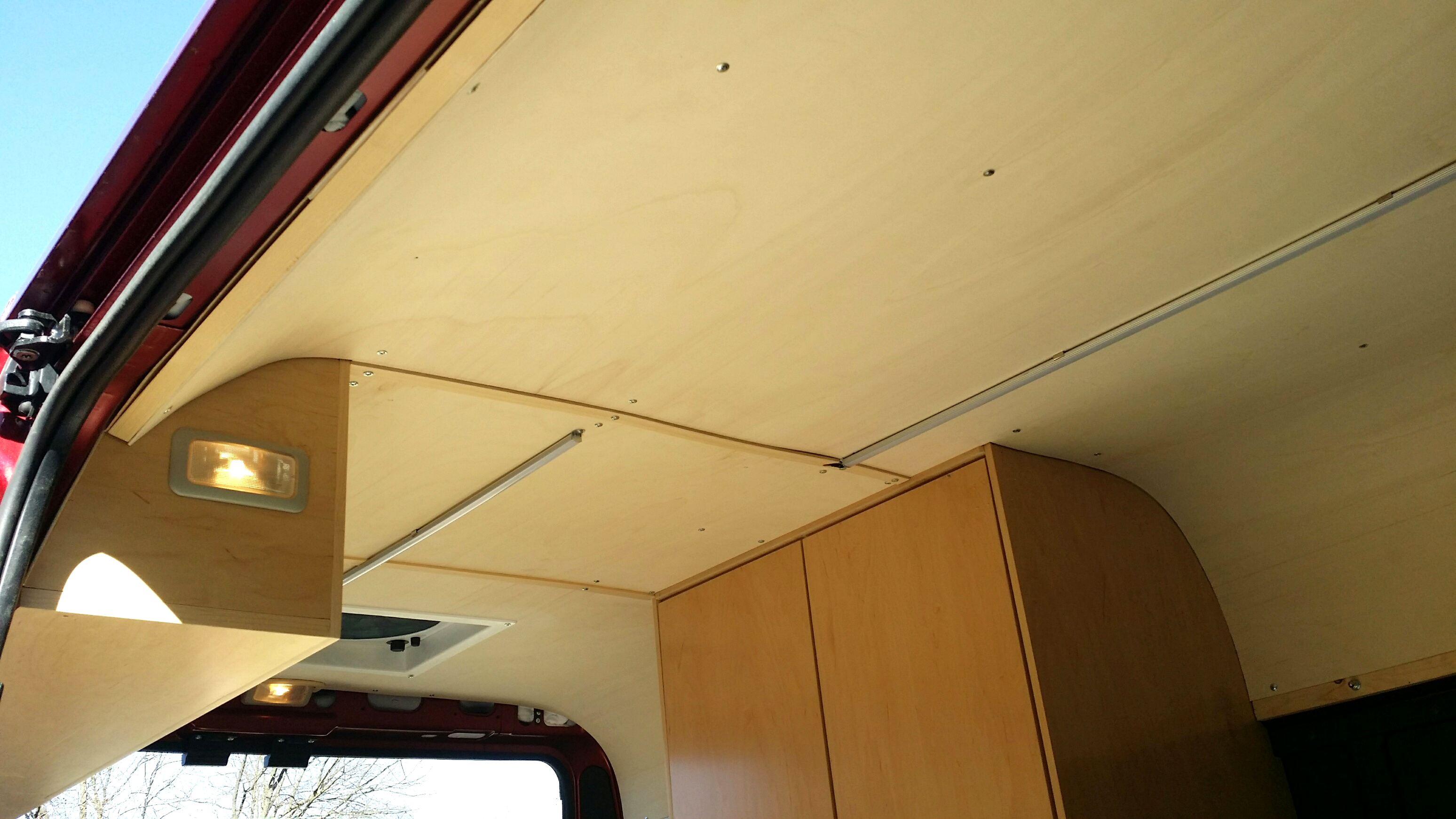 camper van conversion step by step guide with photos and