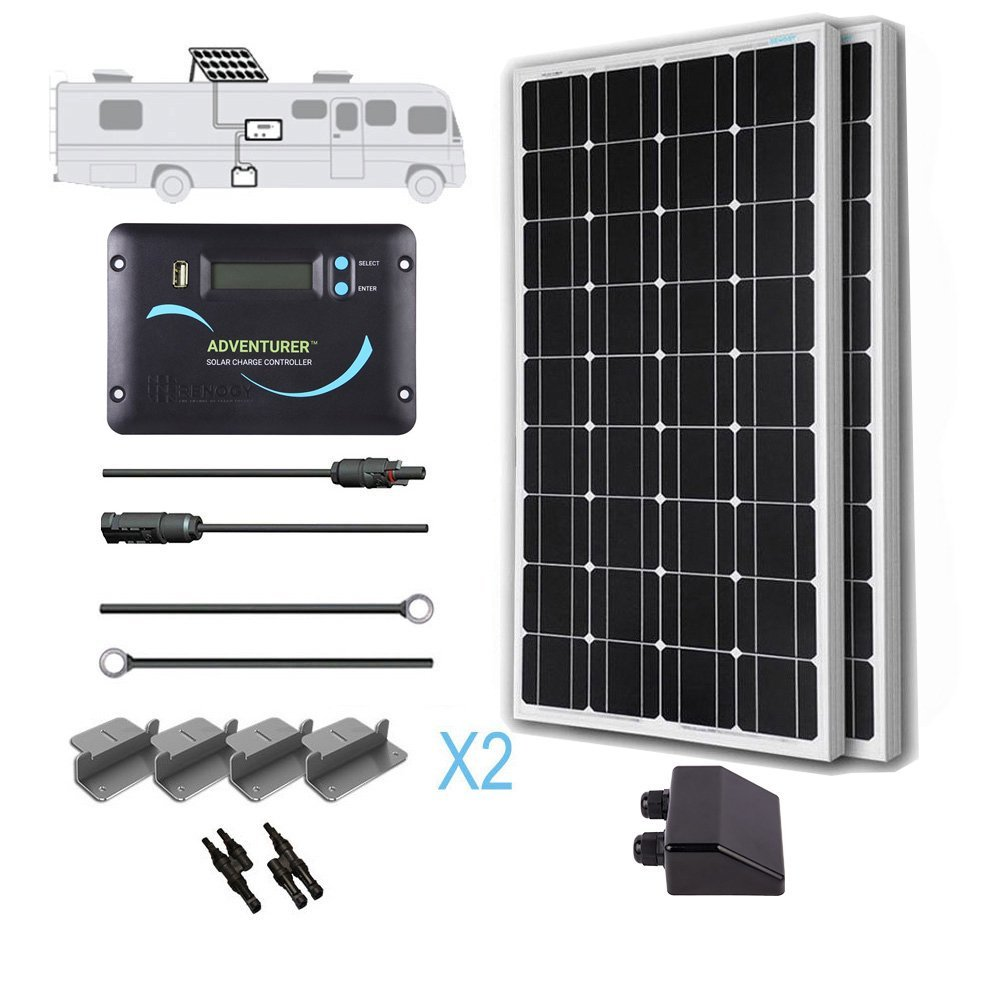 RV Solar Power Kit