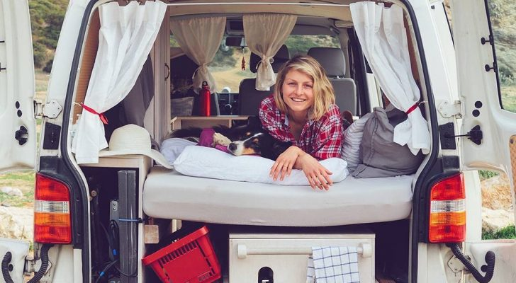 See How This Architect Built A Tiny Camper Van