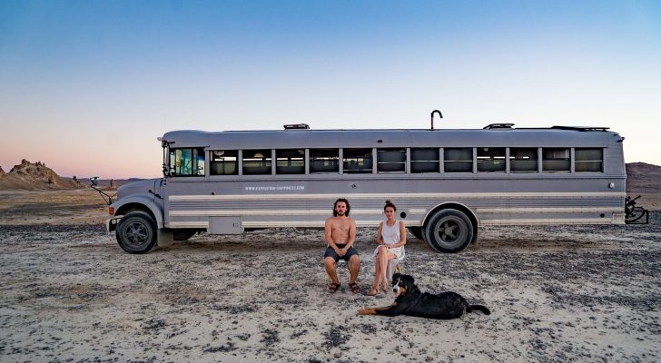 "New Movie ""Expedition Happiness"" Follows A Converted School Bus"