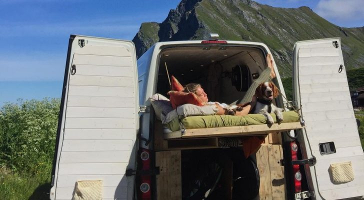 This Off-Grid Camper Van Has A Unique Set-Up