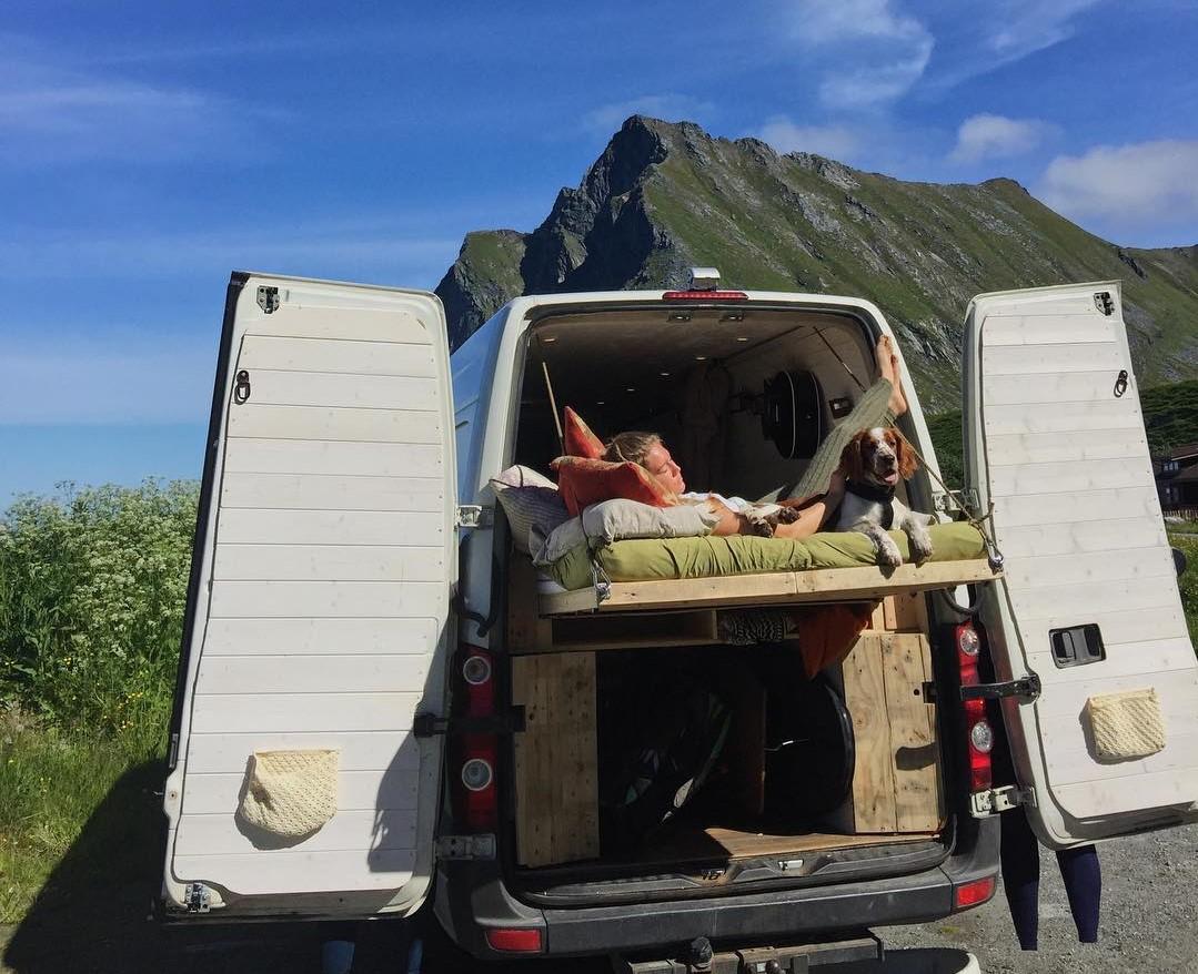Off Grid Camper Van Video