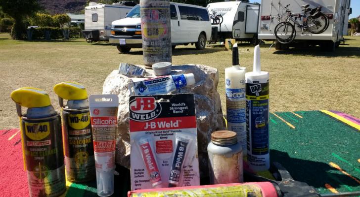 12 Caulks, Sprays, And Lubes Used For RV Maintenance & Repair