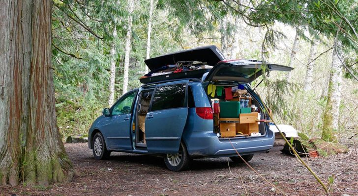 5 Amazing DIY Minivan Conversions