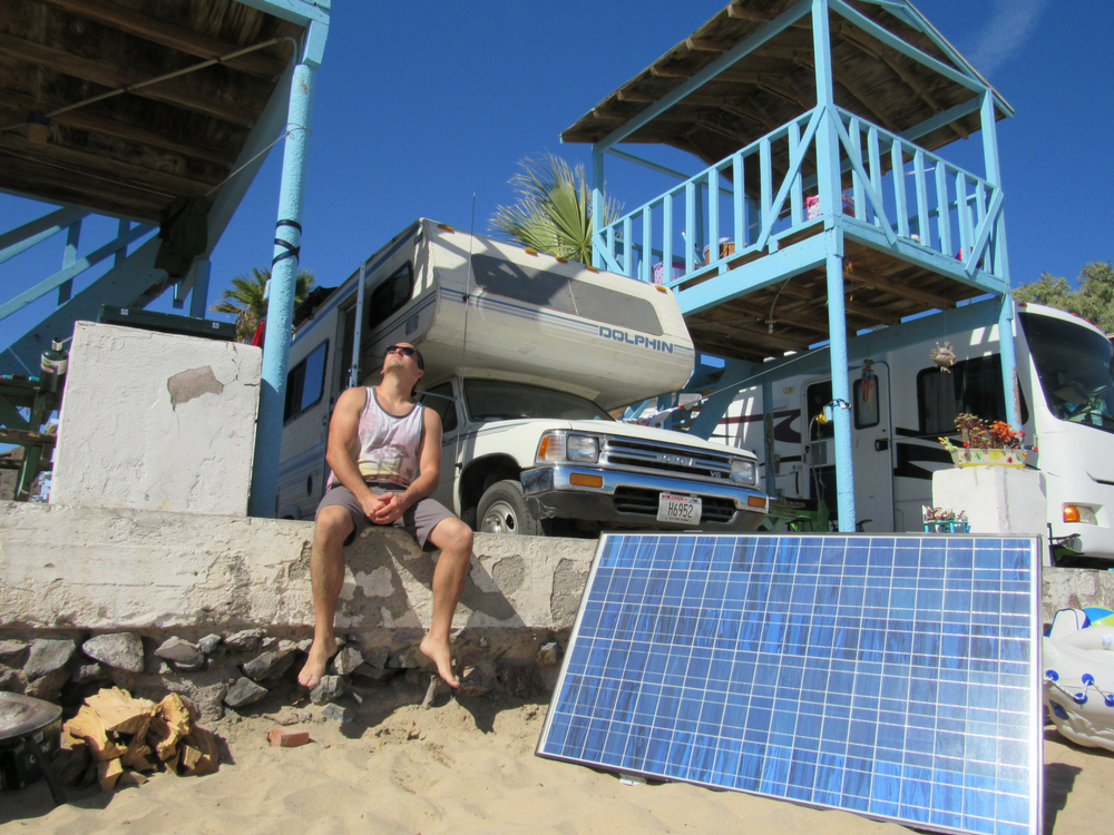 How To Make Rv Rooftop Solar Panels Movable