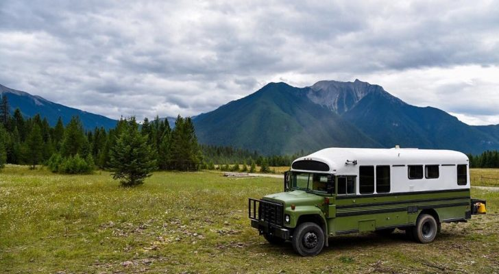 Peek Inside This Uniquely Converted School Bus