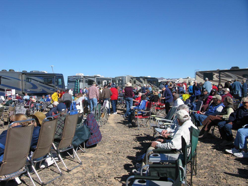 Quartzsite Rally. Photo: RV Life