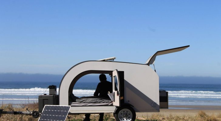 This New Teardrop Trailer Is Scandinavian-Inspired