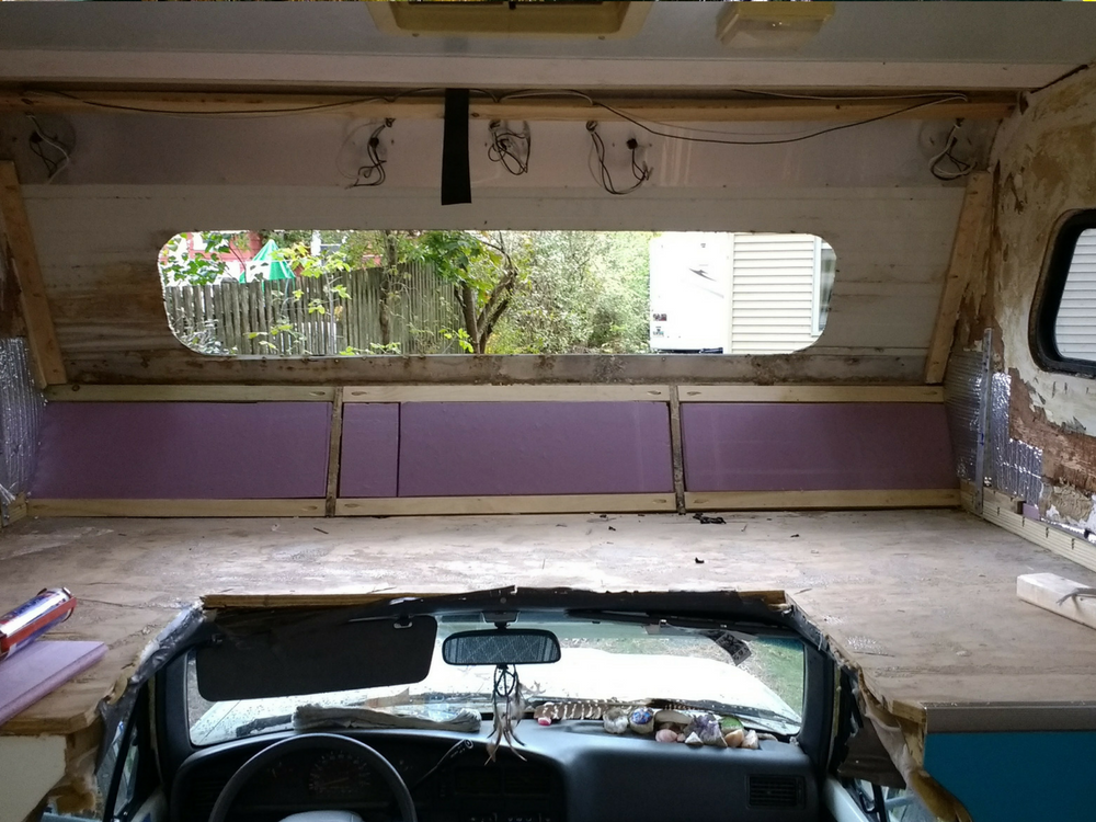How To Rebuild Your Class C Motorhome Overhead Cab Area
