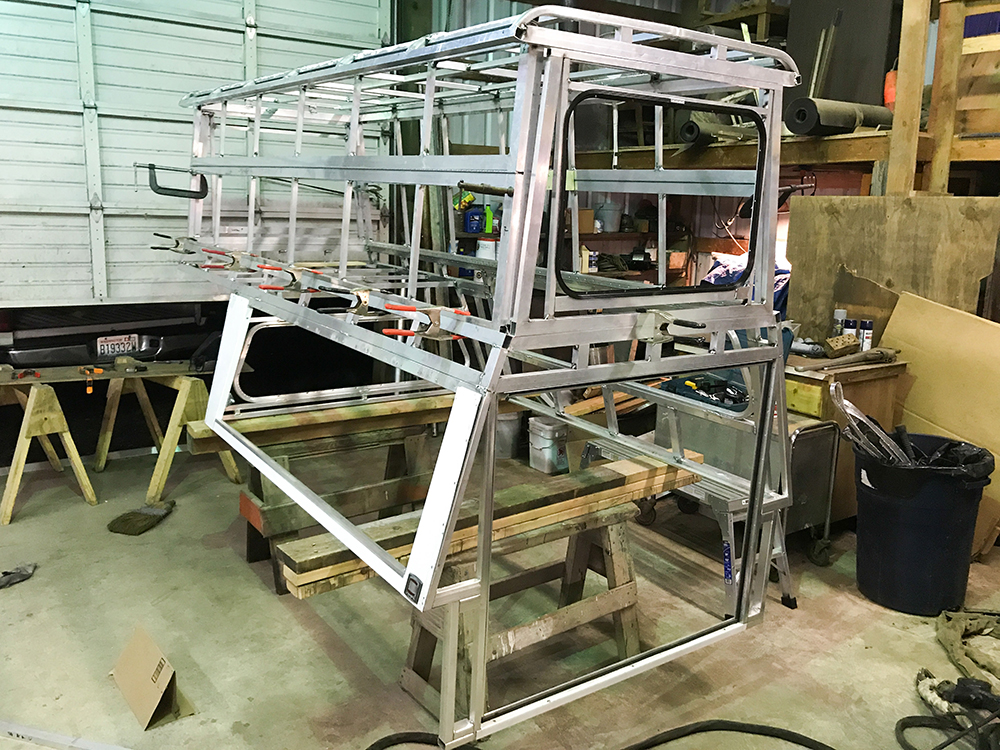 Homemade Truck Camper Shell Step By Step Instructions And