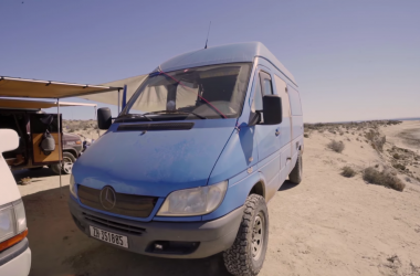 We're In Love With This Couple's 4×4 Sprinter Van