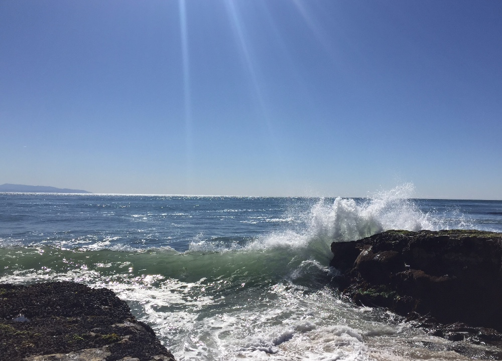 Ocean in Central California