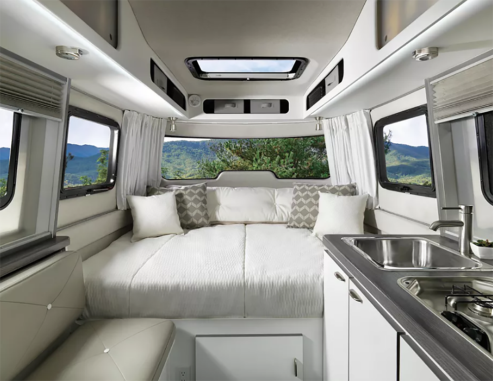 Airstream Nest Is A New Fiberglass Travel Trailer