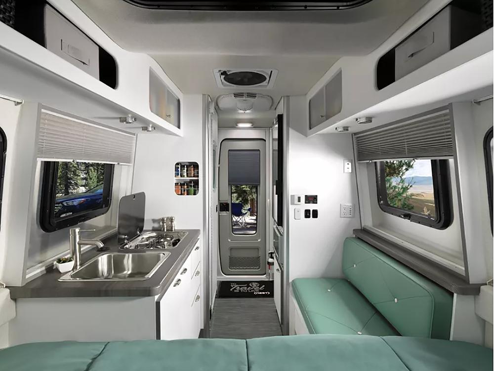 Airstream Nest Is A New Fiberglass Travel Trailer