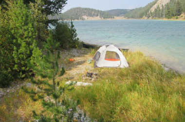 camp-spot-outside-yellowstone