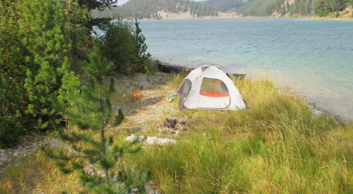 camp-spot-outside-yellowstone