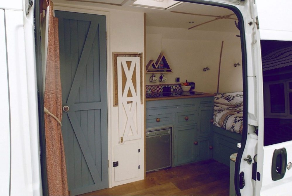 Rustic Camper Van Conversion Video Is Diy Inspiration