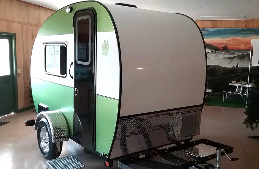 5 Lightweight Travel Trailers You Can Stand Up In