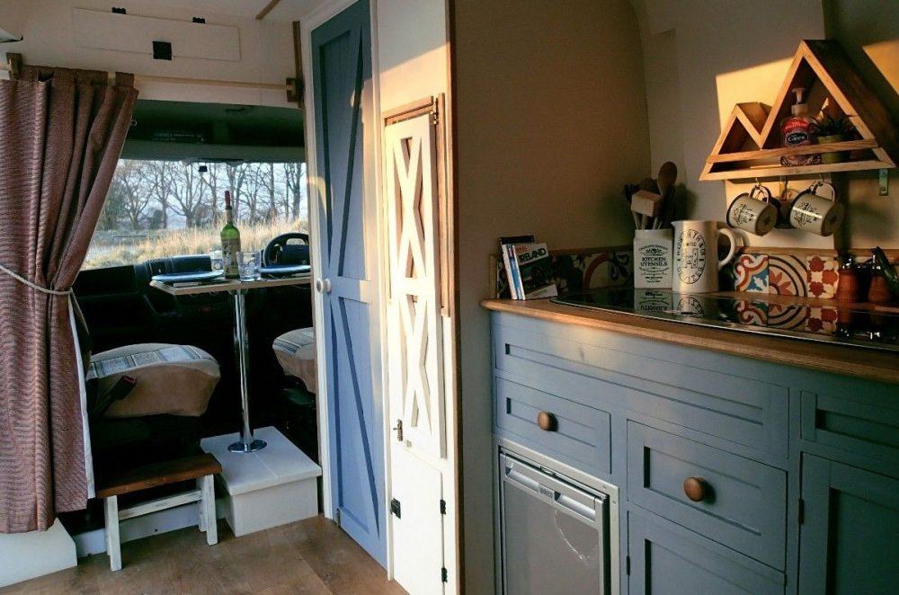 Rustic Camper Van Conversion Video Is Diy Inspiration