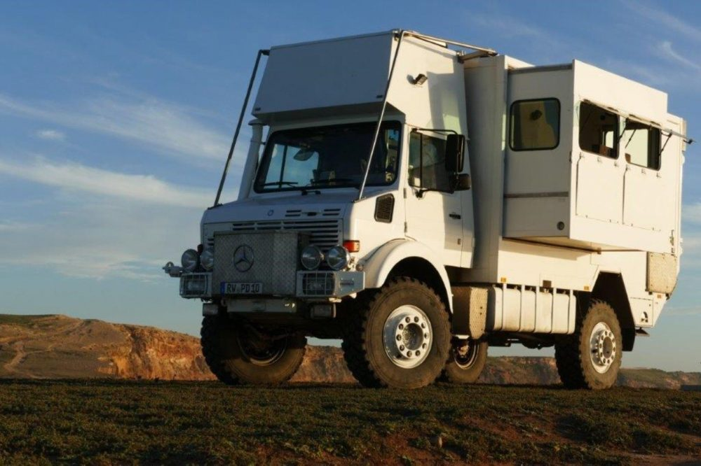 Mercedes Benz Unicat Unimog An Off Road Rv Expedition Vehicle
