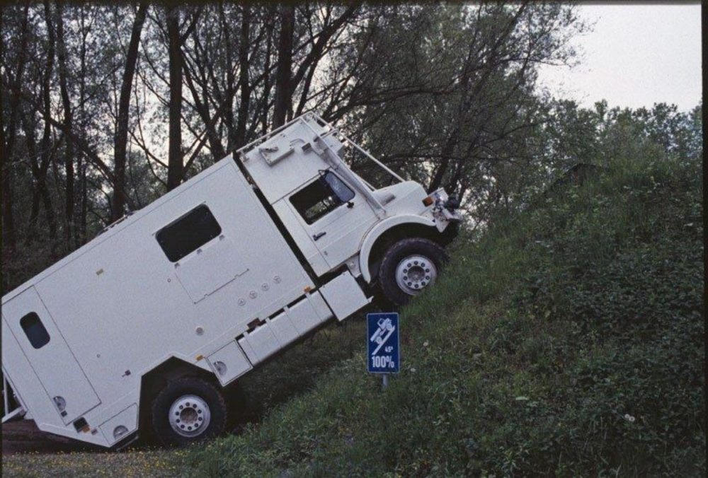 Mercedes-Benz Unicat Unimog, An Off-Road RV Expedition Vehicle