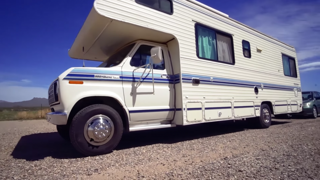 Remodeled Class C RV Motorhome Makeover Video