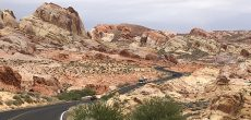 Travel Through Nevada's Valley of Fire & Cathedral Gorge