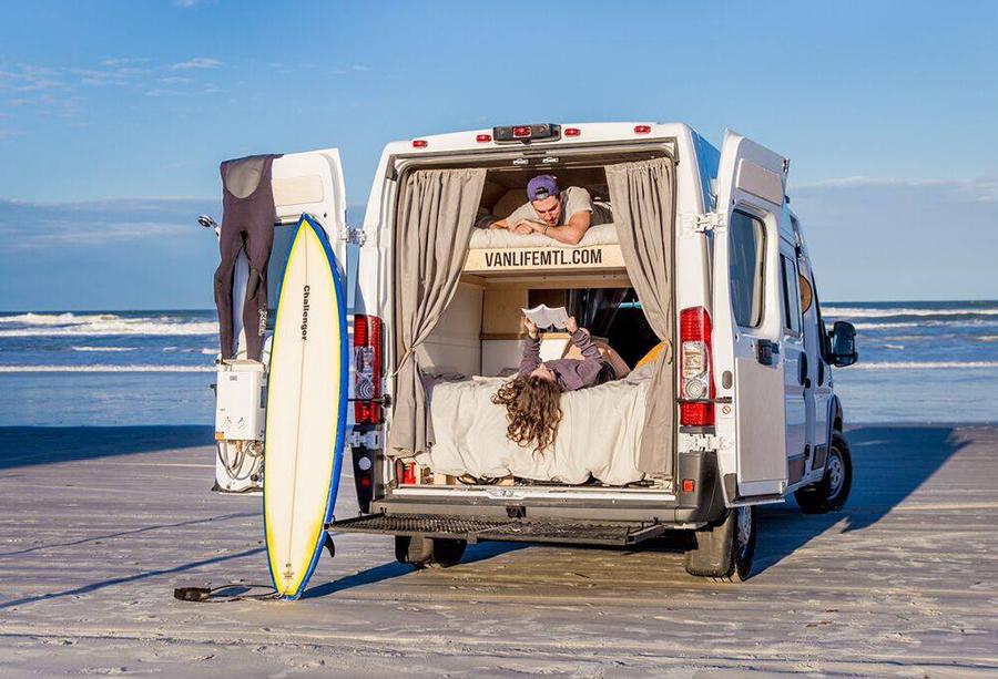 Rental Camper Vans For Rv Touring In Quebec Canada