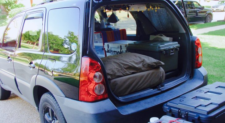 You Would Never Guess This SUV Is A Stealth Camper