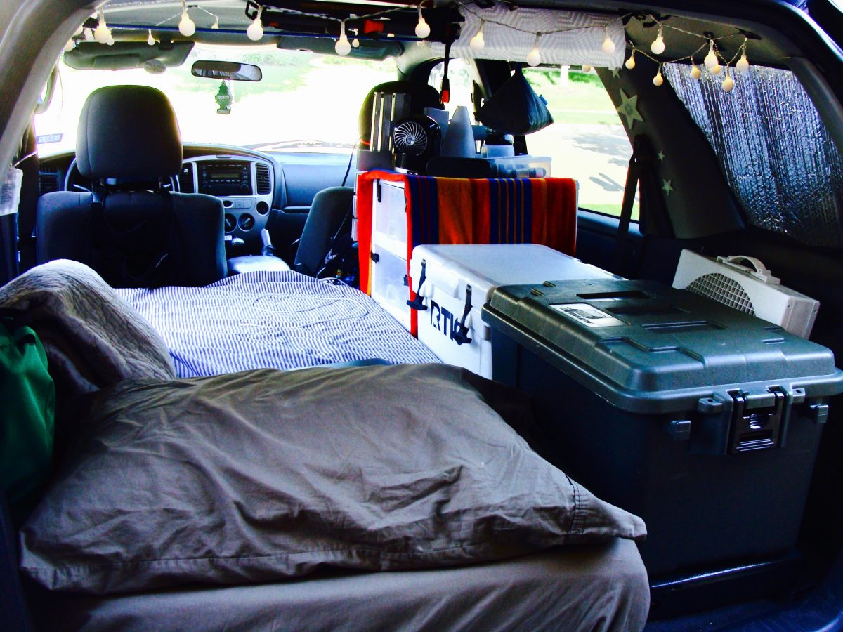Diy Suv Converted Into A Stealth Camper With Photos