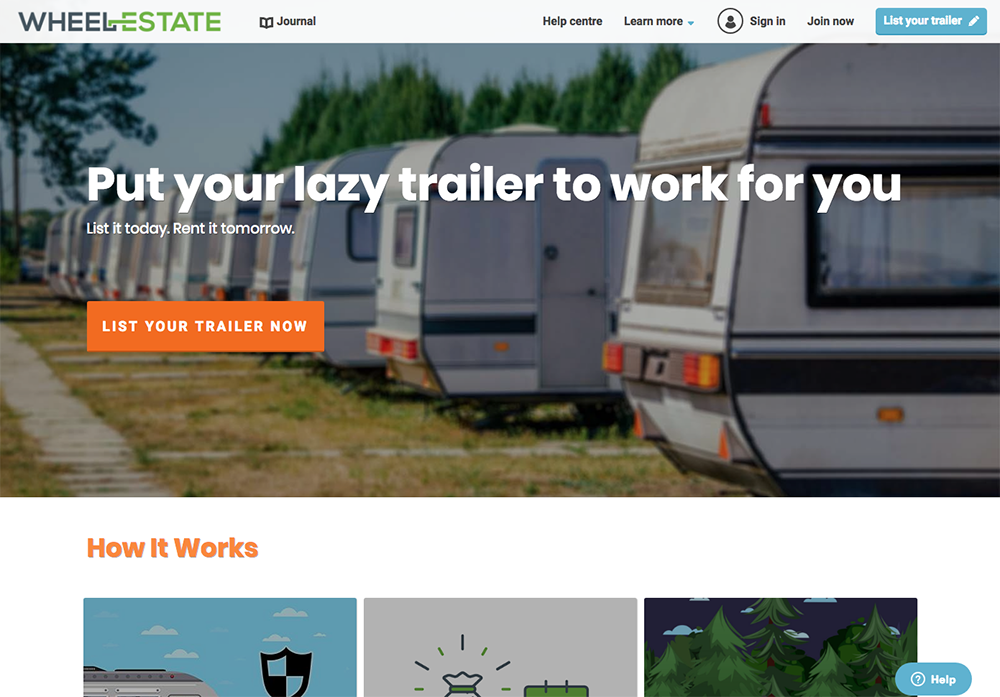Canada Travel Trailer Rentals From WheelEstate
