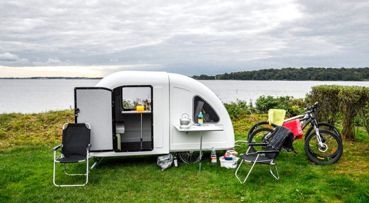The World's Tiniest Collapsible Camper Is Now Available In The U.S.