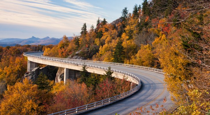 Travel The Blue Ridge Parkway This Fall