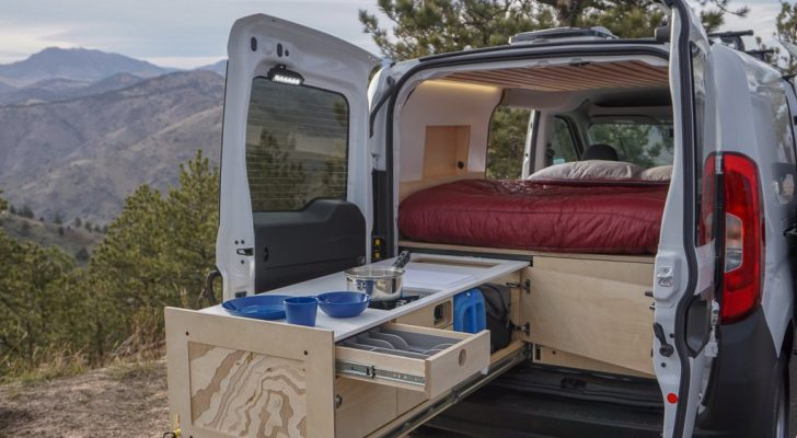 These Camper Van Kits Can Be Installed In Only 2 Days