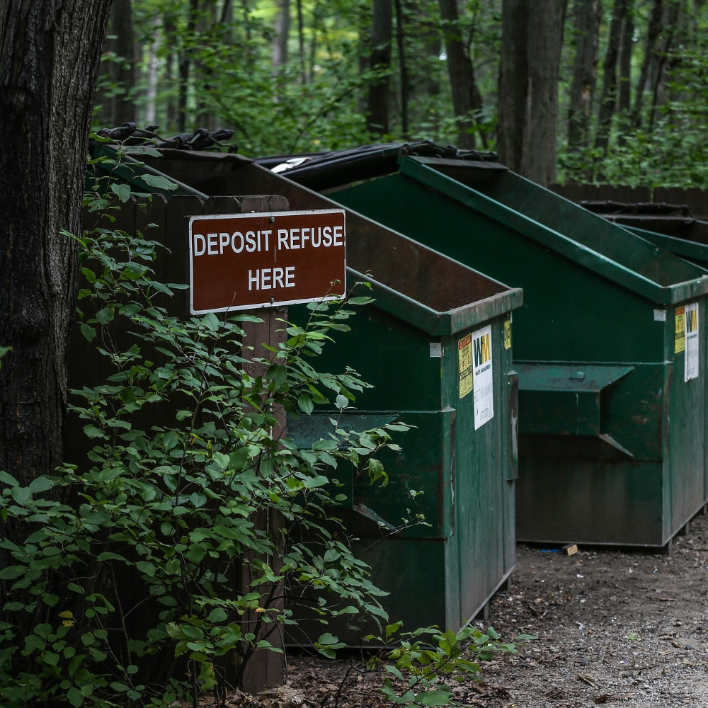 Trash in RV