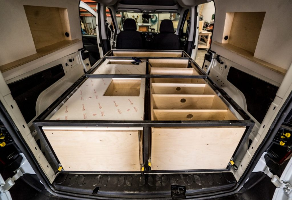 Camper Van Kits For Ram Promaster City Vans With Fast