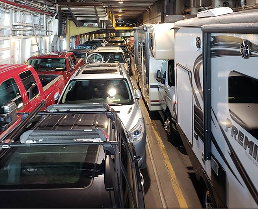 5 Best Ferry Trips For Rvs How To Take Your Rv On The Ferry