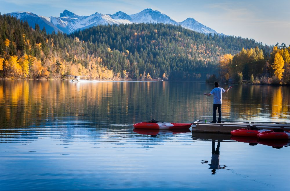 Fly fishing in BC. Photo by Andrew Smith/Flickr
