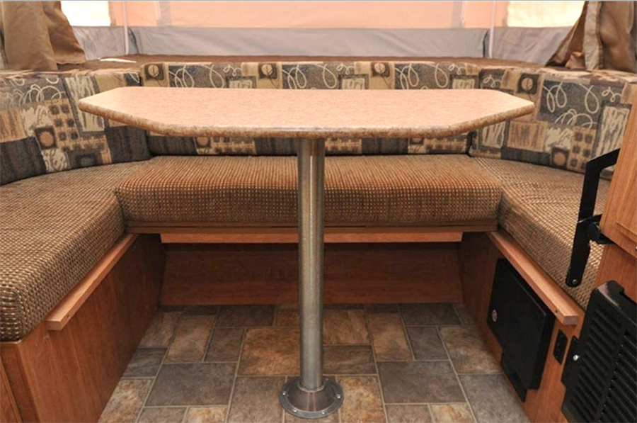 How To Make Your Rv Pedestal Table Move Swivel And Slide