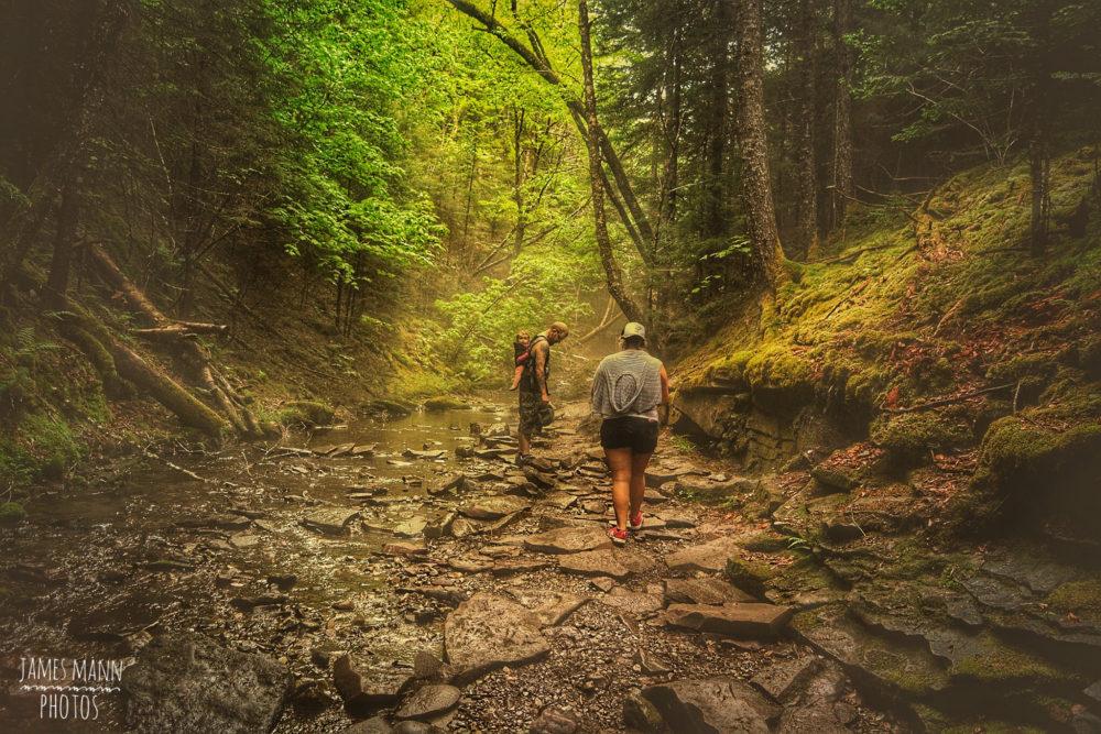 Exploring a Canadian National Park