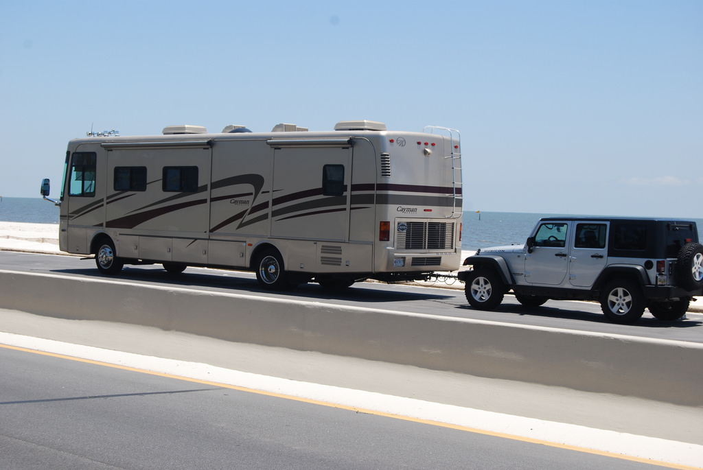 Motorhome for full-time RVing